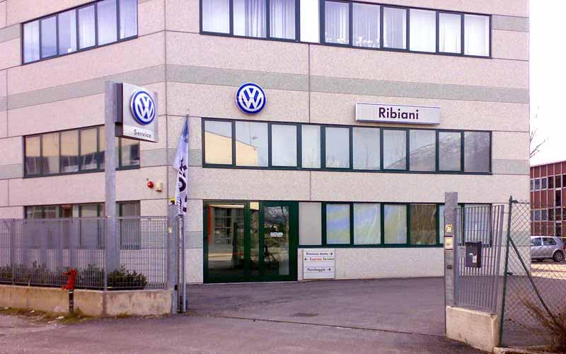Officina autorizzata Volkswagen Ribiani a Mezzocorona in provincia di Trento